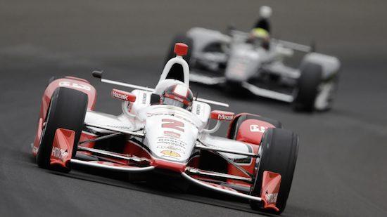 Een willekeurige Indycar