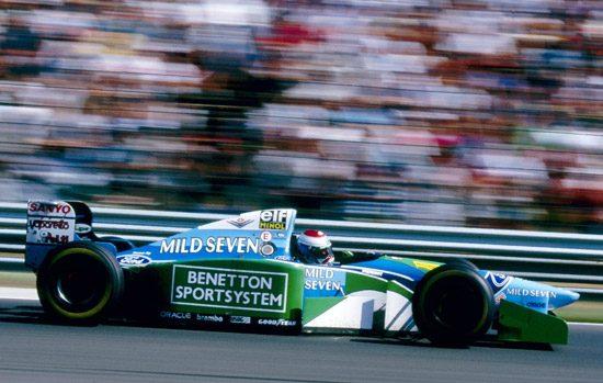 Jos Verstappen 1994 Benetton