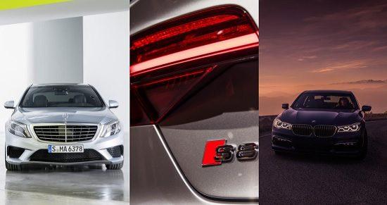 Kies maar: B7 xDrive, S8 Plus of S63 AMG