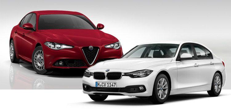 Alfa Giulia versus BMW