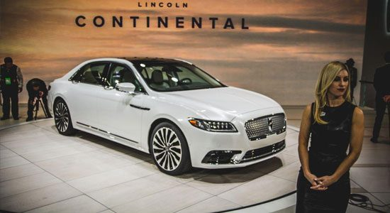 Lincoln Continental heeft swag