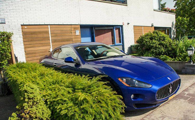 Maserati voor een rijtjeshuis