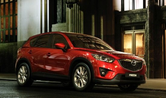 mazda-cx5-red-front-side-city