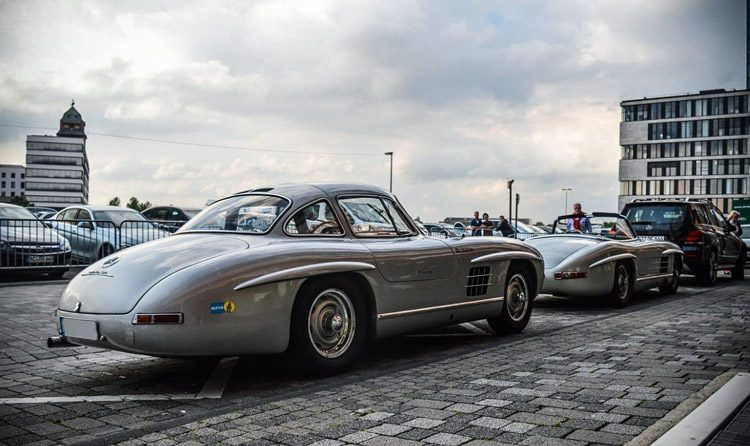 Mercedes Gullwing combo