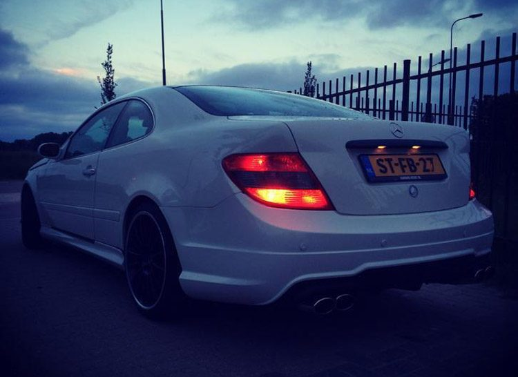 Mercedes CLK AMG Fake