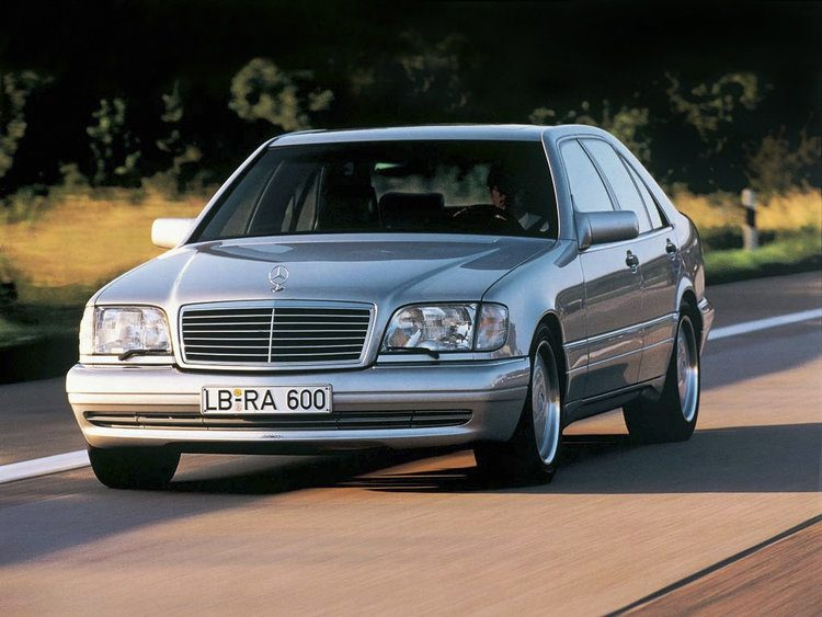 Klassieker mercedes benz s600 w140 for Mercedes benz s 600 amg