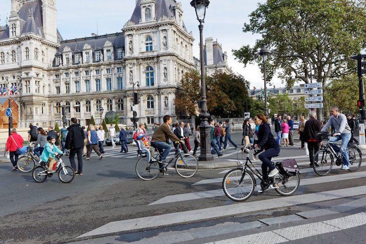 Dit is waarom Parijs er vandaag zo uitzag
