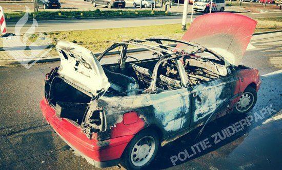 Hoe een Hagenees zijn Golf cabrio liet ontploffen