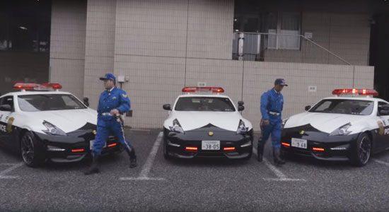 Politie Tokyo heeft Nissan 370Z