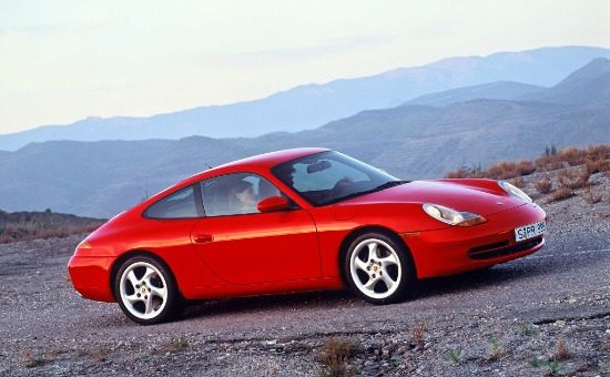 996 Carrera Guards Red