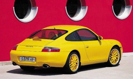 996 Carrera Speedyellow