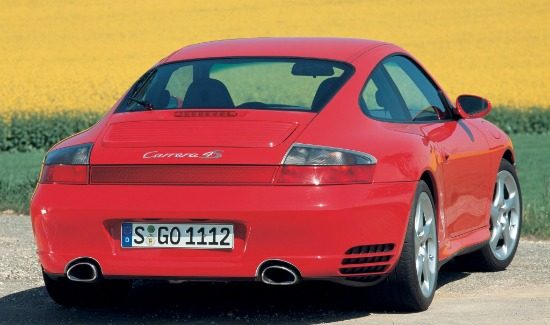 996 Carrera 4S Coupe Guards Red