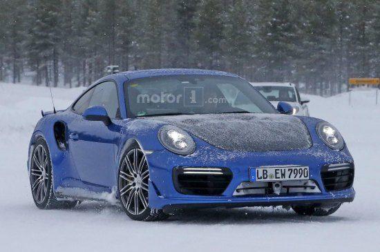 Spyshots! De Porsche 991 GT2