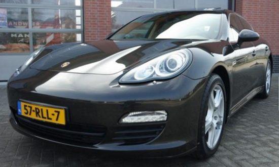 Porsche Panamera S Hybrid Jan Peter Balkenende
