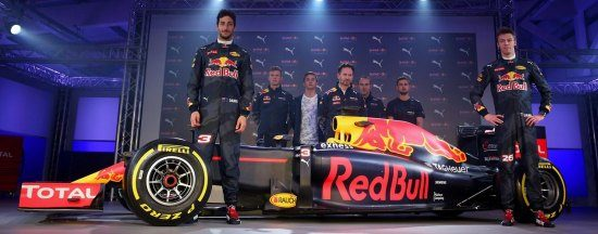 Red Bull livery 2016