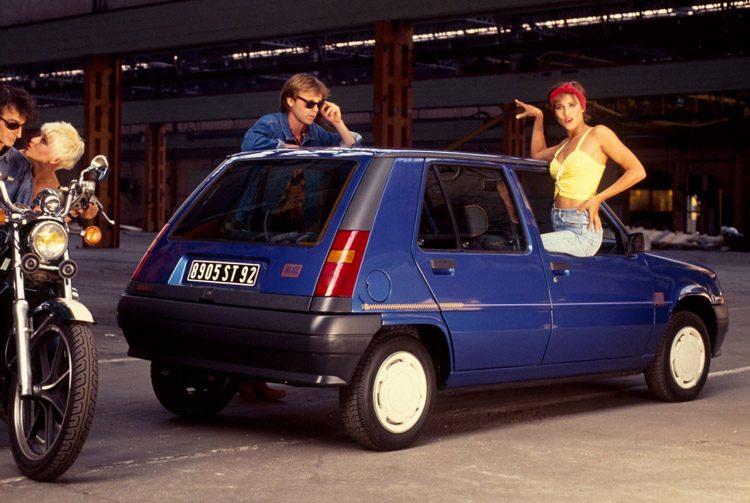 Renault 5 Blue Jeans