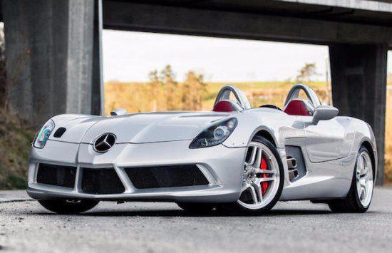 Veilingvoer: Mercedes SLR McLaren Stirling Moss