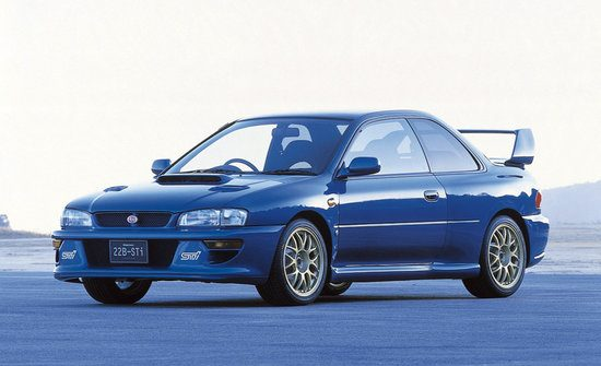 Subaru Impreza Premium Sports Coupe 22B STI Version