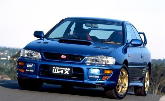 Impreza Coupe WRX STI Type R Version V