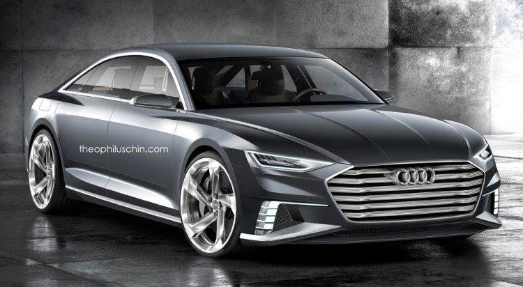 De Audi A9 wordt een Tesla Model S-killer