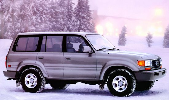 Toyota Land Cruiser 80 V8 Custom Wagon