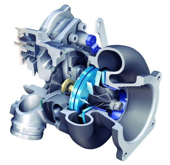 Turbo Compressor Open on Weinig Parts