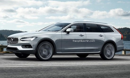 V90 Cross Country soep