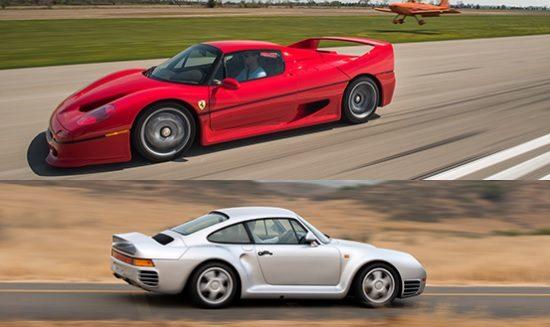 Welke is meer waard, de F50 of de 959?
