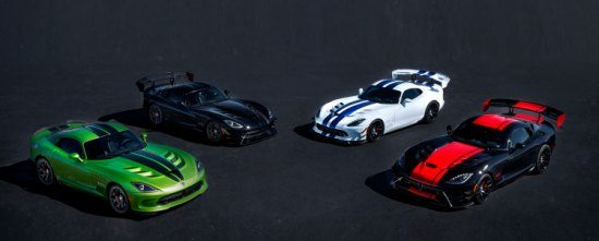 Laatste Viper special editions