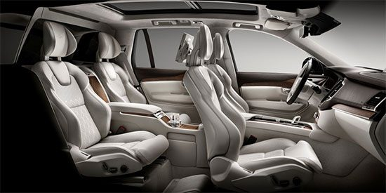 Volvo XC90 Excellence interieur