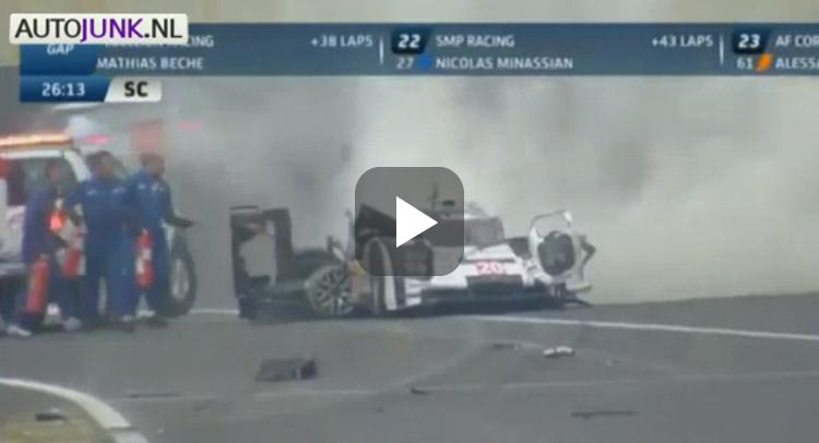 Webber crash interlagos