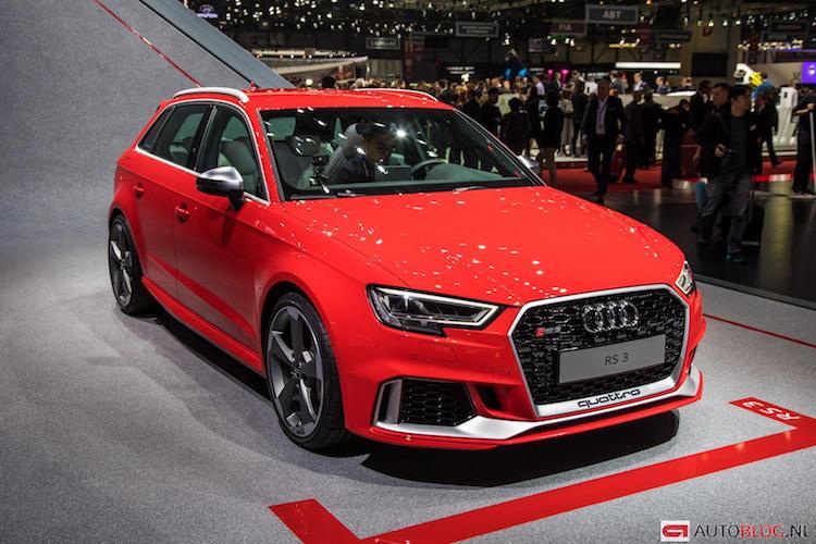 Die neue Audi RS3 Sportback mit 400 ps