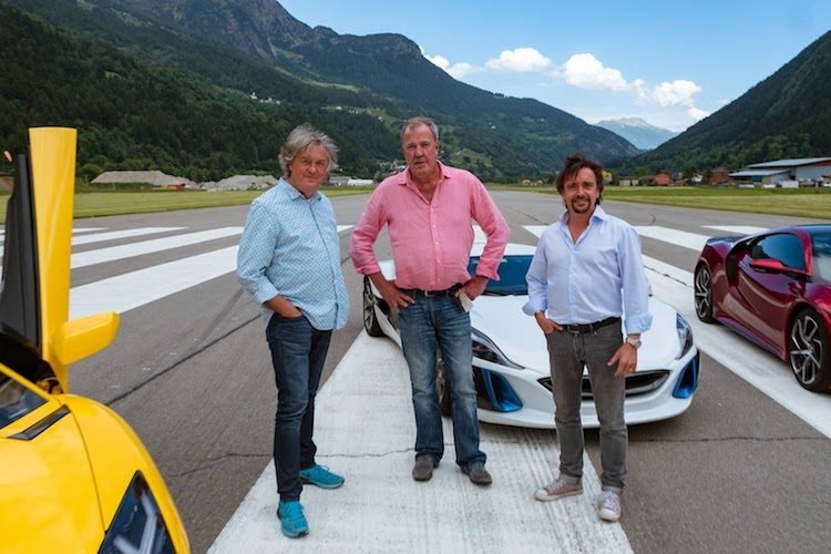 The Grand Tour maakt geen circus van crash Hammond