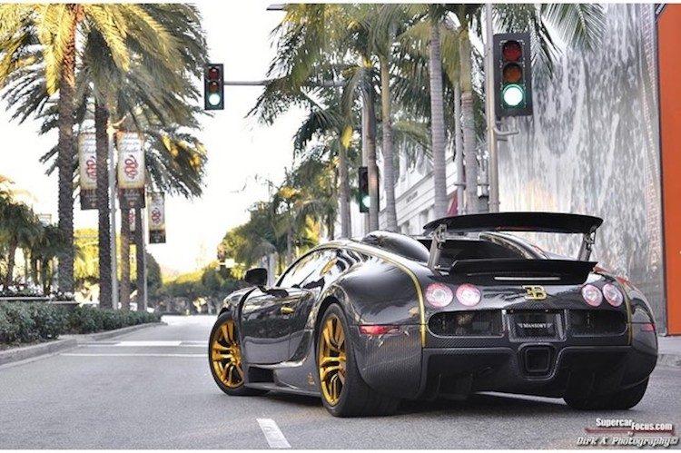 Unieke Veyron Mansory Linea Vincero is te koop