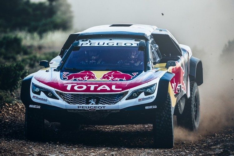 Dit is de nieuwe Peugeot 3008DKR Maxi