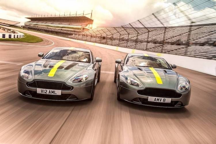 Dit is de Aston Martin Vantage AMR