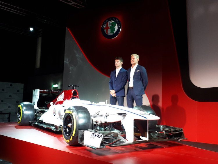 dit is de alfa romeo sauber f1 livery voor 2018. Black Bedroom Furniture Sets. Home Design Ideas