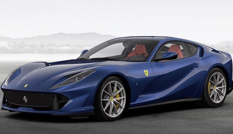 Bouw nu de Ferrari 812 Superfast van je dromen