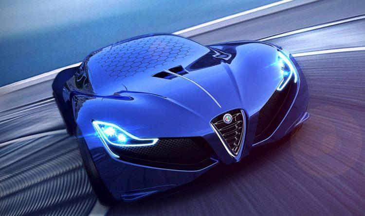 Deze kekke Alfa Romeo doet het zonder voorruit