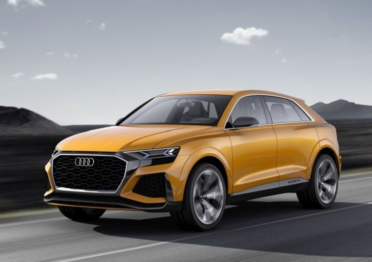 Dit is de Audi Q8 Sport Concept