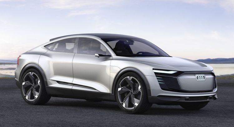 De Audi e-tron Sportback Concept is officieel