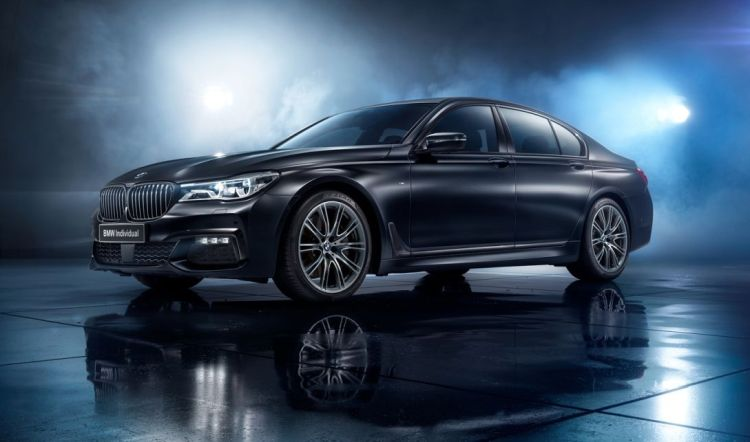 Dit is de BMW 7 Serie Black Ice Edition