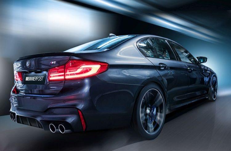 Photoshop! Een impressie van de nieuwe BMW M5