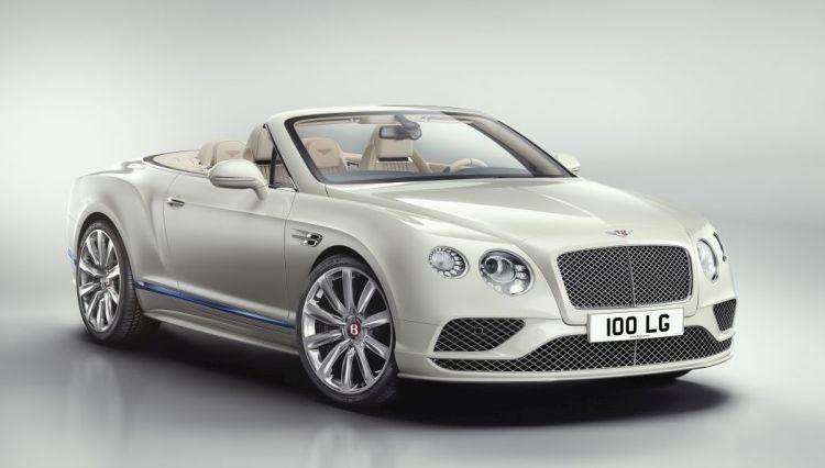 Bentley Conti GT Galene is een boot op wielen
