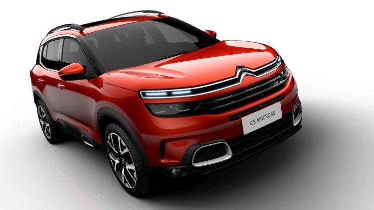 Officieel: de Citroën C5 Aircross