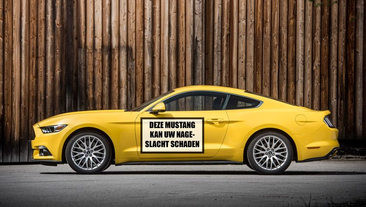 Ford Mustang Onveilig