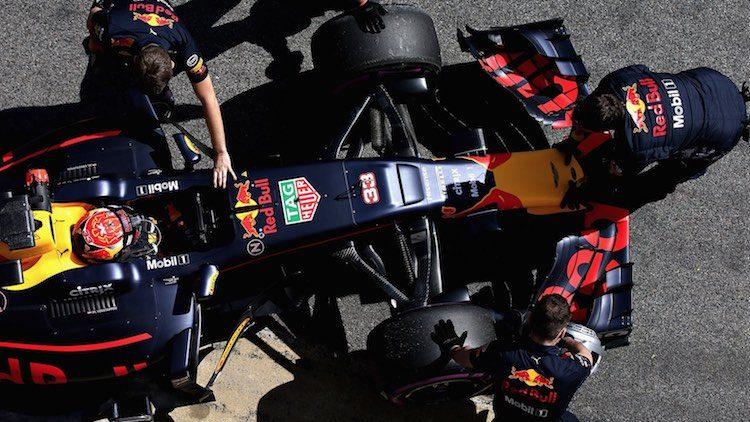 Max Verstappen Red Bull F1 RB13