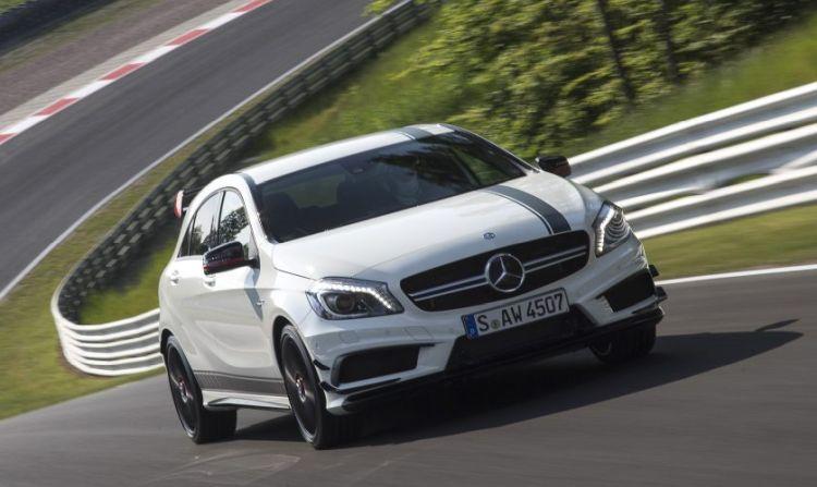 Nieuwe Mercedes-AMG A45 krijgt bizar veel pk's