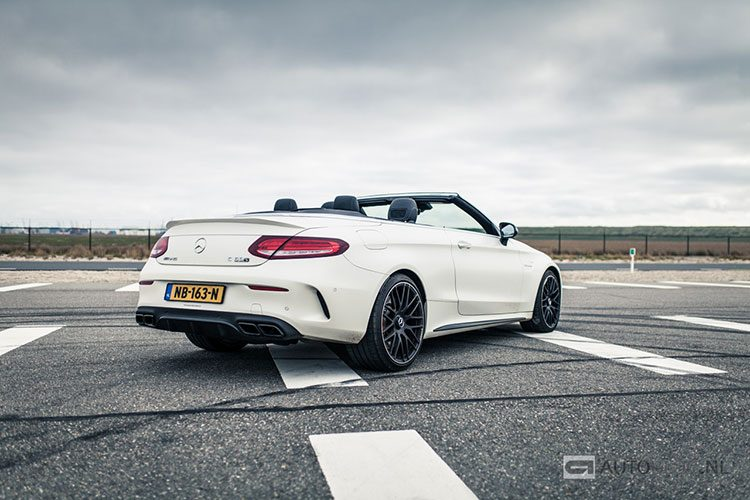 Mercedes C63S AMG Cabriolet