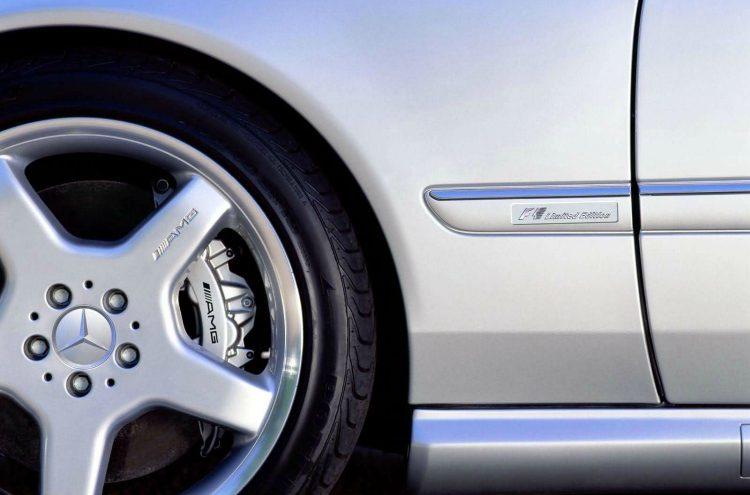 Mercedes-Benz CL55 AMG F1